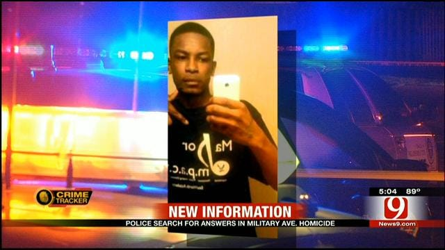 Teen Gunned Down On NW OKC Street
