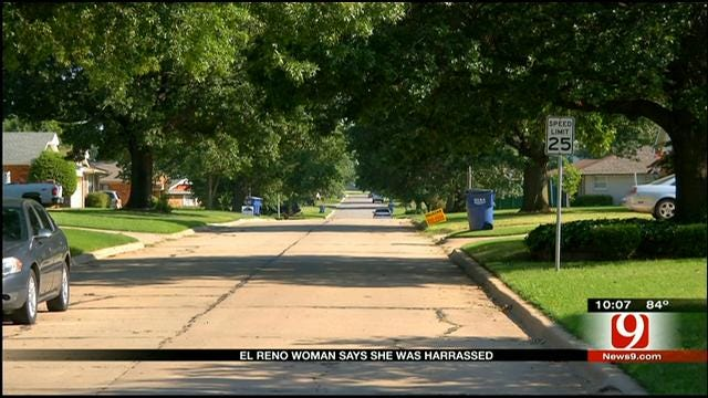 El Reno Mother Claims To Be Harassed By Strange Men; Warns Others