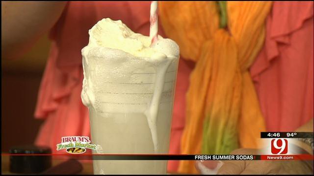 Vanilla Cream Soda Syrup And Floats