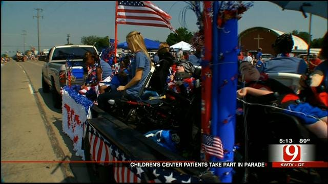 The Children's Center Patients Participate In Bethany Parade
