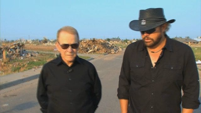 WEB EXTRA: Toby Keith Returns To Moore To Talk Exclusively With Gary England, Part II