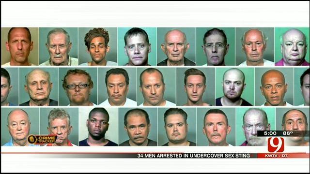 Dozens Of Men Arrested, Accused Of Lewd Behavior At Lake Hefner