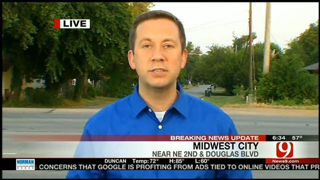 Car Falls On, Kills Midwest City Man