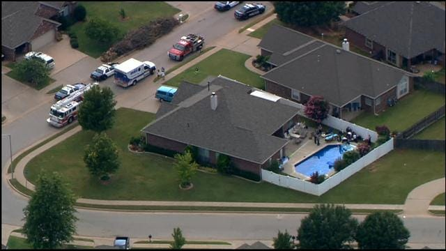 WEB EXTRA: SkyNews 9 Flies Over Possible Drowning In SW OKC