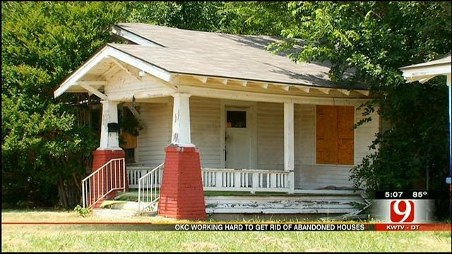 OKC Officials Hope To Better Enforce Fines On Abandoned Homes
