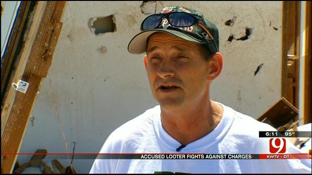Man Accused Of Looting In Moore Fights The Charge