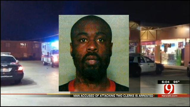 OKC Police Arrest Suspect In Violent Robbery, Brick Attack