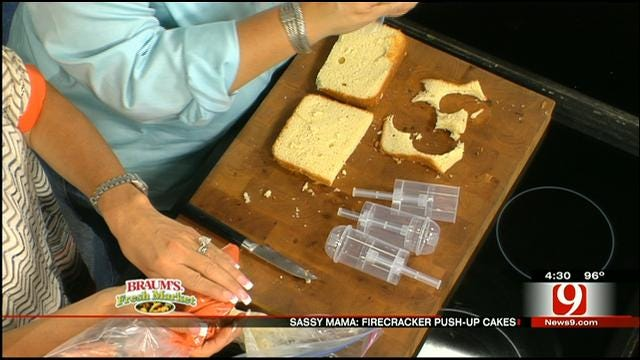 Firecracker Push-up Cakes