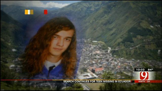 Search Intensifies As Ecuador Offers Reward For Missing OKC Teen