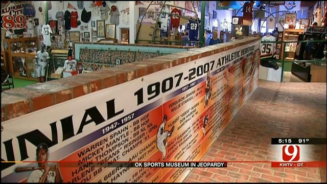 Oklahoma Sports Museum May Close Due To Costs