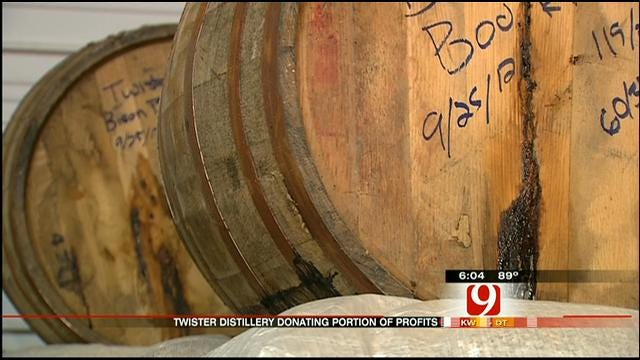 Moore Distillery Donates To Red Cross