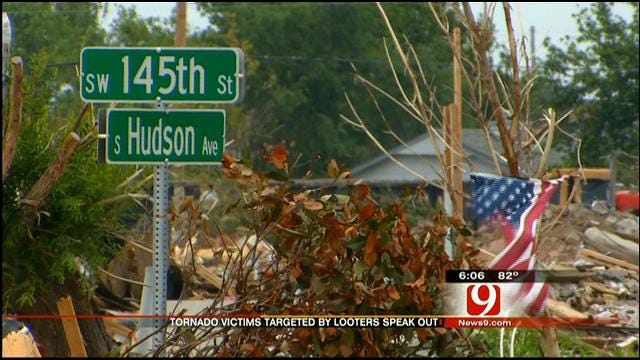 Tornado Victim Opens Up About Dealing With Looters