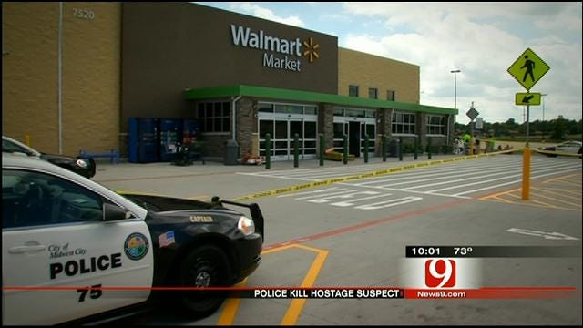 MWC Police Shoot, Kill Man Who Took Toddler Hostage Inside Walmart