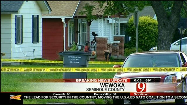 Man Shot In Front Of Wewoka Home