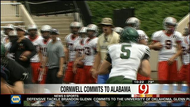 Cornwell Picks Crimson Tide
