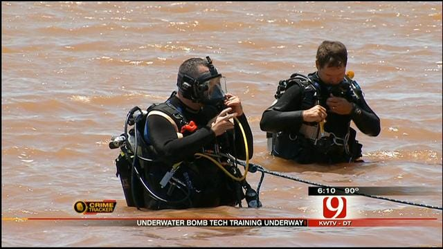 Bomb Techs From All Over The World Train In Edmond