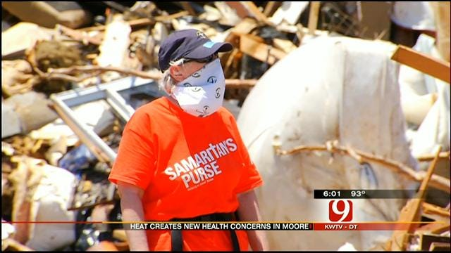 Crews In Moore Face Health Hazards During Cleanup Process