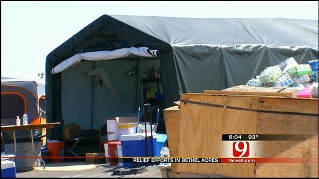Bikers Join In On Relief Effort In Bethel Acres