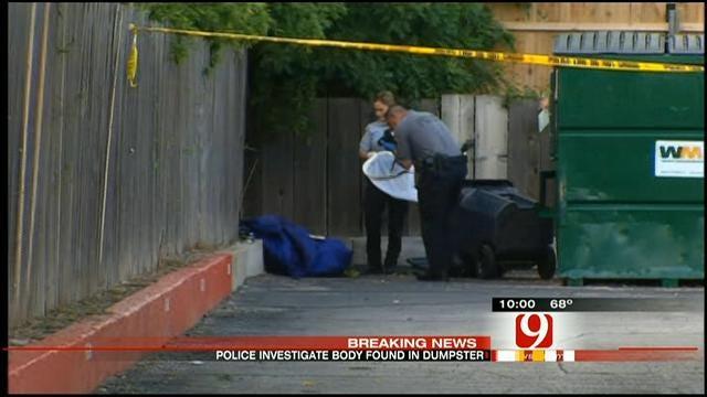Body Found Near Dumpster At SW OKC Apartment Complex
