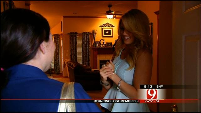 News 9 Story Links Picture, Lost In Tornado, To Family