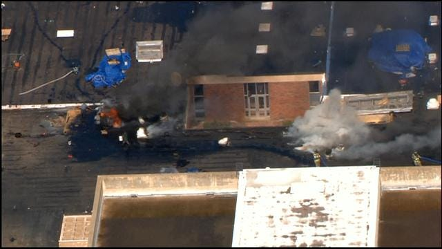 Crews Put Out Fire At Rogers Middle School In Spencer