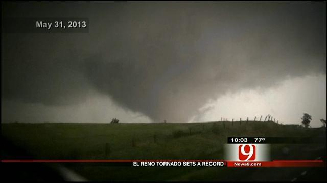 Closer Look At Record-Breaking El Reno Tornado