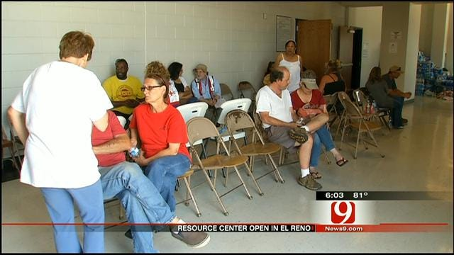 El Reno Disaster Relief Site Open For Tornado Victims