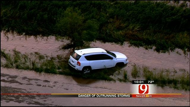 Emergency Managers Warn Against Attempting To Outrun Tornadoes