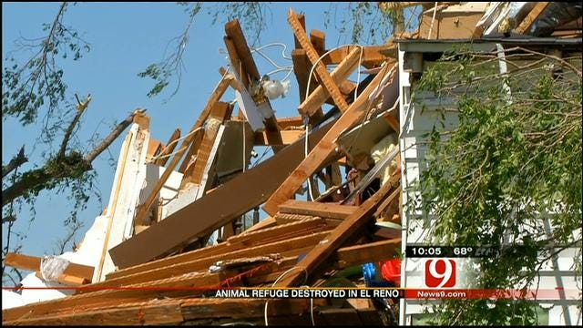 El Reno Family's Home, Business Destroyed In Storm