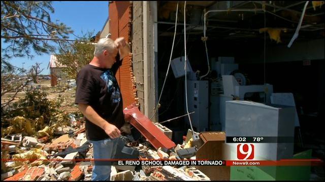 Storms Demolish Canadian Valley Tech Center