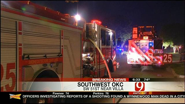 OKC Family Escapes House Fire Sparked By Clothes Dryer