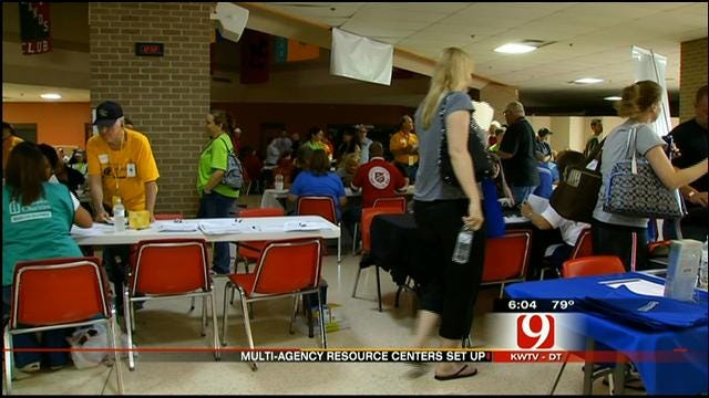 Multi-Agency Response Center Set Up For Tornado Victims
