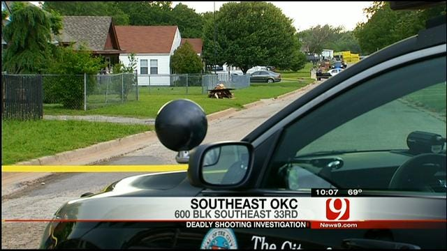 Victim Dies At Hospital After Drive-By Shooting In SE OKC
