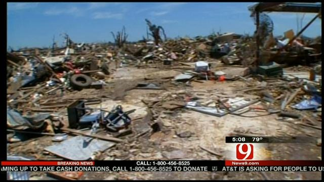 News 9 Visits Storm Ravaged Plaza Towers Elementary