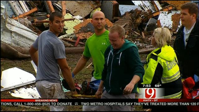 News 9 Photojournalist Captures Aftermath Of Moore Tornado