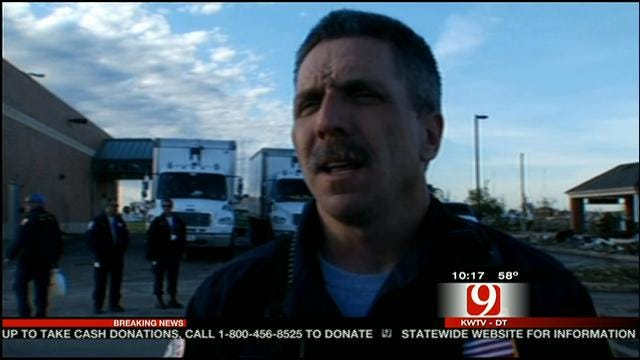 Texas Team Comes To Moore To Help Search For Tornado Survivors