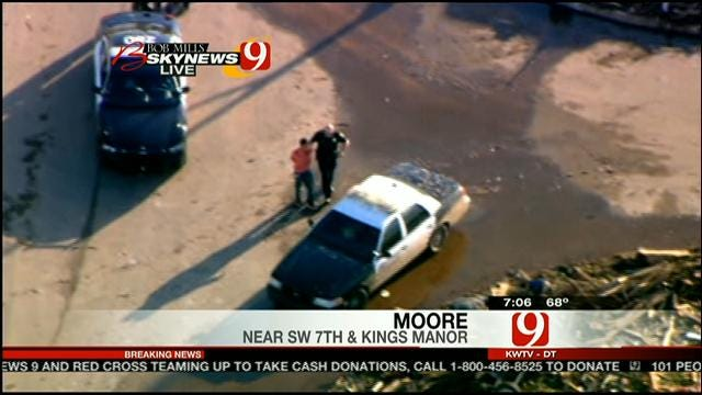 Police Arrest Two Accused Of Looting In Moore