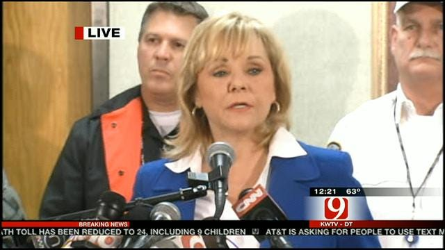 Gov Fallin: It's Been A Very Trying Couple Of Days For Oklahoma