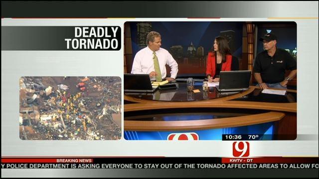 SkyNews 9 Pilot Jim Gardner Speaks About Tracking Massive Tornado