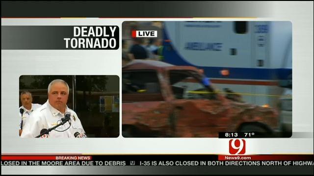 Authorities Speak About Deadly Tornado In Moore