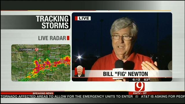 News 9 Employee Nearly Caught In Monster Tornado