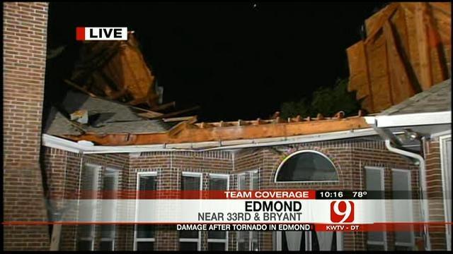Evan Anderson Covers Edmond Storm Damage