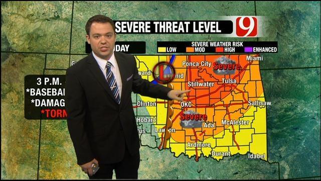 Severe Weather Threat In Oklahoma Sunday