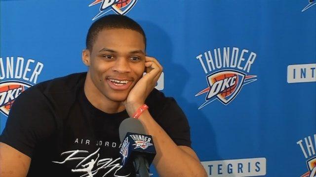 Westbrook Talks Injury, Title Chances