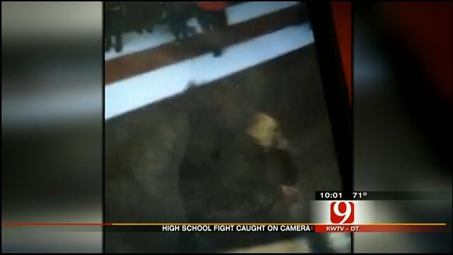 Caught On Tape: Girl Beaten By Two Students At Yukon High School