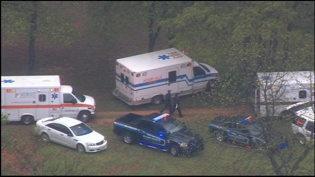 SkyNews 9 Flies Over Double Shooting Scene In Luther