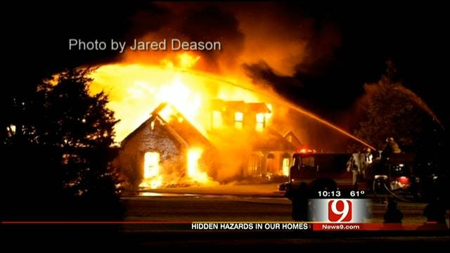 Oklahoma Family Blames Gas Tubing For House Fire