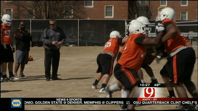 Gundy Looking For Good Scrimmage From Cowboys On Saturday