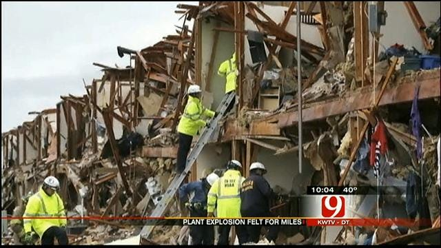 Edmond Woman Shares Life-Saving Story From Texas Explosion
