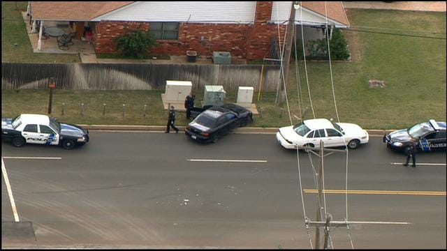 WEB EXTRA: SkyNews 9 Flies Over Police Chase In SE OKC